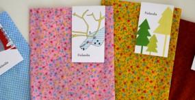 finlandia ilustraciones y bolsa de tela